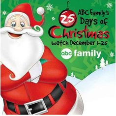 2013 ABC Family 25 Days of Christmas Movie Schedule