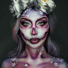 Glam Skull Makeup picture3