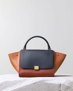 Celine Trapeze Medium Handbag - Multicolor