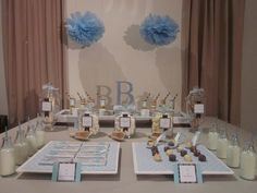 "Photo 1 of 20: Baby Shower/Sip & See ""Little boy blue, we're waiting for you."" 