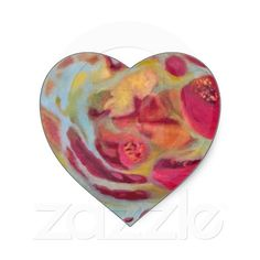 Veiled Pomegranate Sticker  Sealed w/ love, the final touch to creating the perfect Valentine! :) $5.95 for sheet of 20! Click here to purchase!