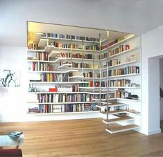Ideas Home Library Ideas Diy Bookshelves House