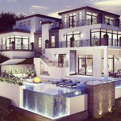 30 fachadas de casas modernas dos sonhos fachadas de for 30 fachadas de casas modernas dos sonhos