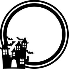 Welcome to the Silhouette Design Store, your source for craft machine cut files, fonts, SVGs, and other digital content for use with the Silhouette CAMEO® and other electronic cutting machines. Halloween Vinyl, Halloween Cards, Holidays Halloween, Halloween Decorations, Halloween Clipart, Halloween Stuff, Happy Halloween, House Silhouette, Silhouette Clip Art