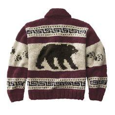 Cowichan Bears Button-up Sweater
