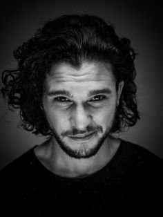 "Christopher Catesby ""Kit"" Harington (1986) - English actor. Photo © Michael Muller"