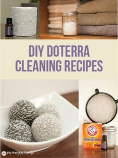 DIY doTERRA Cleaning Recipes