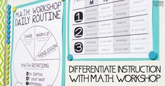 M.A.T.H. workshop allows students to learn new math content daily, practice math strategies in a variety of ways, and reflect on learning through sharing.