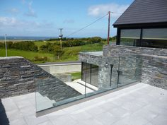 Patterson House, House Designs Ireland, Hillside House, Boundary Walls, Dream House Interior, New Home Designs, Modern House Design, Building A House, House Plans