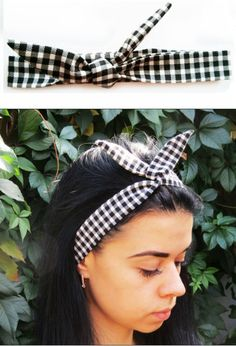 Check out this item in my Etsy shop https://www.etsy.com/ru/listing/249486089/checkered-headband-sports-headband-plaid