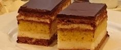 Tradiční české řezy (fotorecept) Nutella, Tiramisu, Food And Drink, Ethnic Recipes, Sweater, Sheet Cakes, Bakken, Jumper, Sweaters