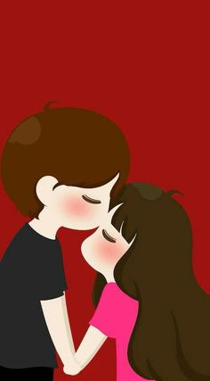 Ideas For Wall Paper Couple Cartoon Love Cartoon Couple, Anime Love Couple, Cute Anime Couples, Girl Cartoon, Cute Drawings Of Love, Cute Couple Drawings, Cute Couple Art, Cute Couple Wallpaper, Cute Disney Wallpaper
