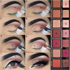 @katerinekosivchenko #makeuplooksstepbystep