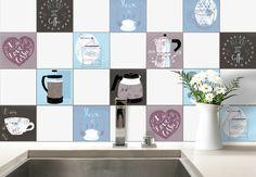 Adesivi murali adesivo per piastrelle cucina rustica piastrelle