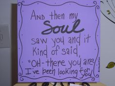 And then my SOUL saw you and it kinda of by touchofGRACEdesign, $17.99
