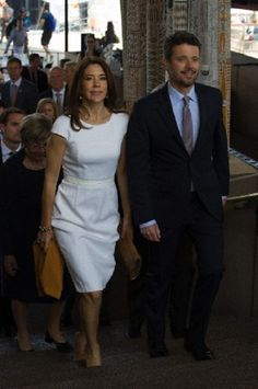 Denmark's HRH Crown Prince Frederik and HRH Crown Princess Mary attend a luncheon hosted by the Confederation of Danish Industries and 'Visit Denmark' at the Sydney Opera House as part of their official visit to Sydney, 27.10.13