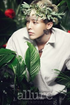 Big Bang G-Dragon - Allure Magazine April Issue '13