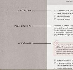 Ebook składa sięz trzech rozdziałów: WIEDZY NA START, PROJEKTOWANIA oraz PROJEKTU W PRAKTYCE.