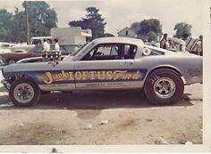 Vintage Drag Racing - Ford Mustang
