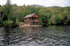 Camp Solitude Boathouse - my sister went to music camp here in the 60's. I thought it was very cool.