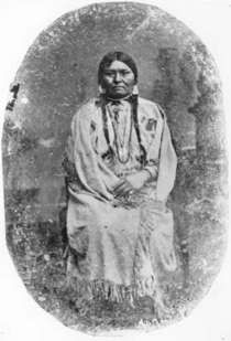 Chief Joseph's first wife, Heyoon Yoyikt