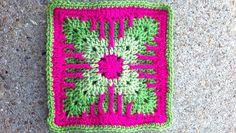 Kitten's Claw Crochet Block Pattern