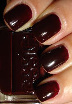 """Essie - """"Wicked"""".  -   Just got this fab colour this Christmas! Thanks Debbie! NYE colour."""