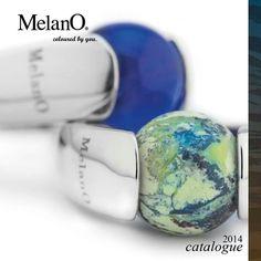 MelanO cateye bal maat 6 voor ring.