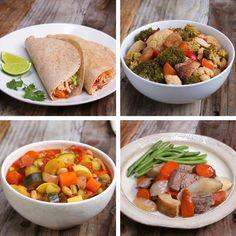 4 Freezer Prep Meals