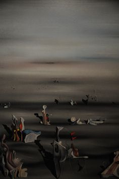 The Furniture of Time - Yves Tanguy 1939 MoMA, New York by ARTExplorer, via Flickr