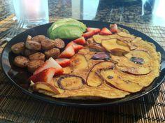 Apple Cinnamon Omelette | Whole 30 | From @@dieffs