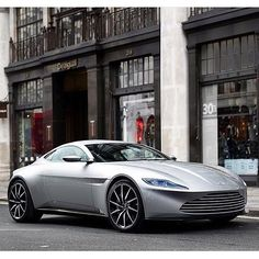 The New James Bond Car Aston Martin DB10