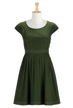 Shop Online Womens Designer Dresses | Sundresses | Women's Sundresses | Plus Size Sundresses | Petite Sundresses | | eShakti.com