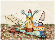 移動式風車