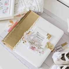 Snail Mail Flipbook, Little Bo Peep, Notebook Covers, Album Photo, Scrapbook Albums, Beautiful Babies, Mini Albums, Girly, Paper Crafts