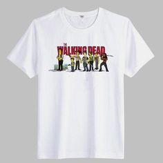 The Walking Dead Mens T-Shirts - Short Sleeve Cotton Casual Tee The Walker Store    http://thewalkerstore.com/short-sleeve-cotton-casual-tee/