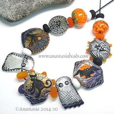 ANASTASIA-lampwork-beads-9-HALLOWEEN-SRA