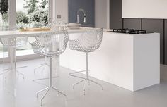 MERIDIANA Stool by Christophe Pillet (2004) for Driade.