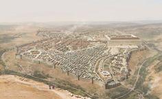 1st century Jerusalem just before the 1st great Jewish revolt against Rome