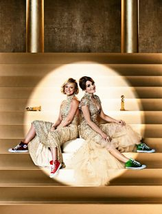 Tina Fey and Amy Poehler's Golden Globe ads