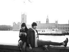 aubin & wills spring 2012, irina lazareanu and alex james