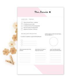 Imprimibles para tu agenda Gratis en tu Kit de Bienvenida de Estudio Avellana ♡
