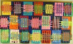 Paper weavings