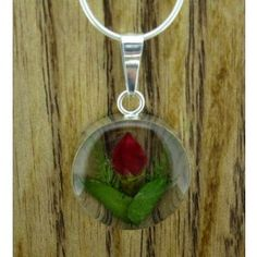 Rose Circle Flower Silver Pendant (Small) | Handmade Mexican jewellery from Silver Bubble http://silverbubble.co.uk/flower-jewellery-collection/round-flower-silver-pendant-small-2553
