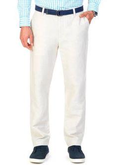 e1f09ce4dc49a Nautica Classic-Fit Linen-Cotton Pants