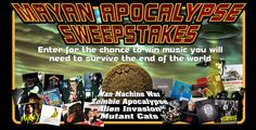 It's the End of the World!    Is Your Music Collection Ready?    Enter our Mayan Apocalypse Sweepstakes for your chance to win 50 CDs of your choice AND a signed poster from The Rolling Stones.