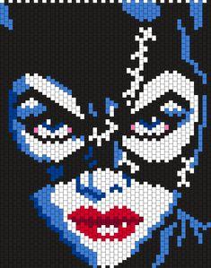 Catwoman by Maninthebook on Kandi Patterns