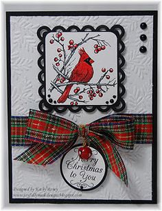 love it!  (i have a single cardinal stamp, wonder if it would look good in this same sort of layout... ??? )