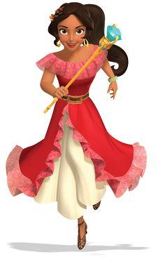 Elena de Avalor é uma futura série animada, spin-off da série do Disney Junior…