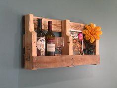 Wine Rack & Book Shelf https://www.etsy.com/shop/TheCrateCaper